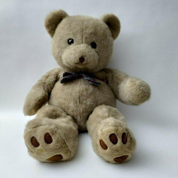 "Vintage 28"" Cuddle Wit Teddy Bear Plush Stuffed Animal"